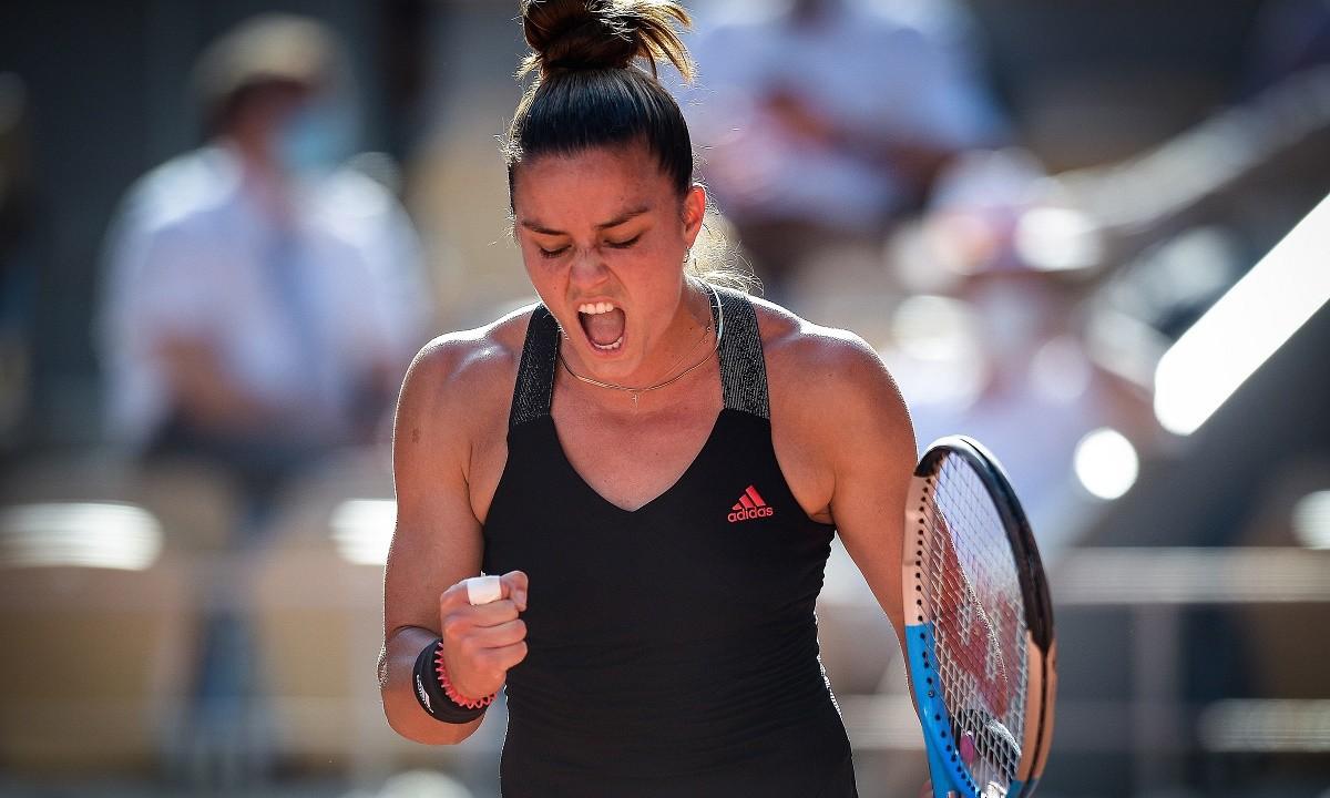 Σάκκαρη – τένις: Γυμνάζεται και… τρομάζει [vid]   panathinaikos24.gr
