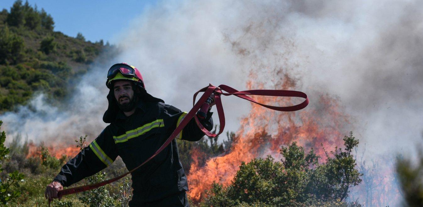 Φωτιά στο Ναύπλιο – Επί ποδός η Πυροσβεστική | panathinaikos24.gr