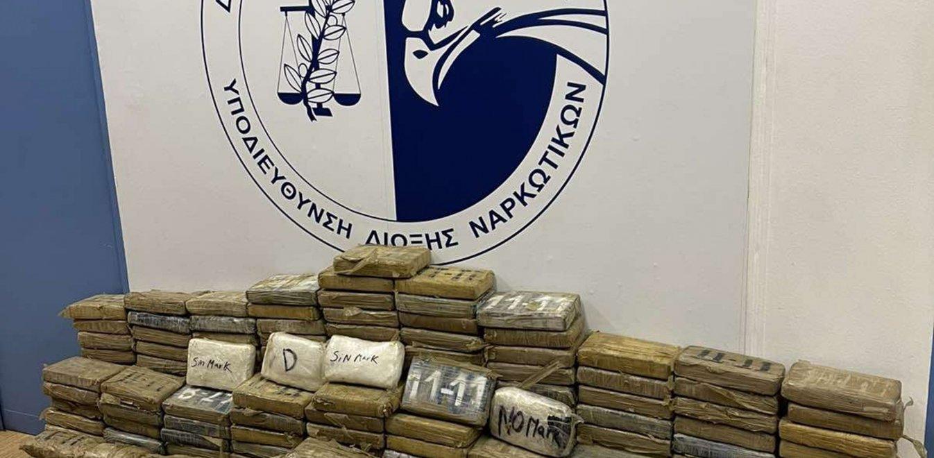 «Μπλόκο» σε 350 κιλά κοκαΐνης στο λιμάνι του Πειραιά (Vid) | panathinaikos24.gr