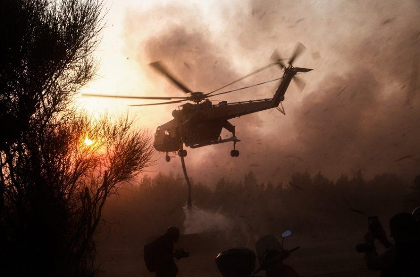 Εικόνες Αποκάλυψης: Εκτός ελέγχου η κατάσταση στην Αττική! (vid)   panathinaikos24.gr