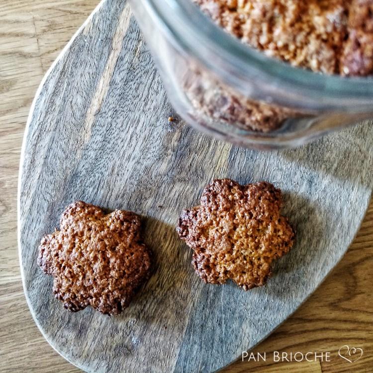 Biscotti integrali con esubero di licoli di segale