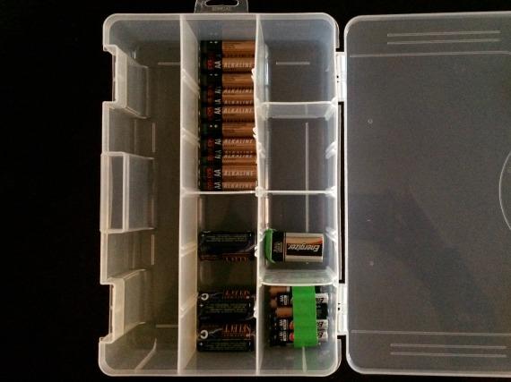 Batteries Box, 1
