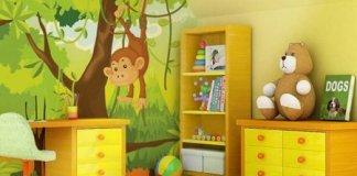 Dekorasi Kamar Bayi Dengan Nuansa Alam
