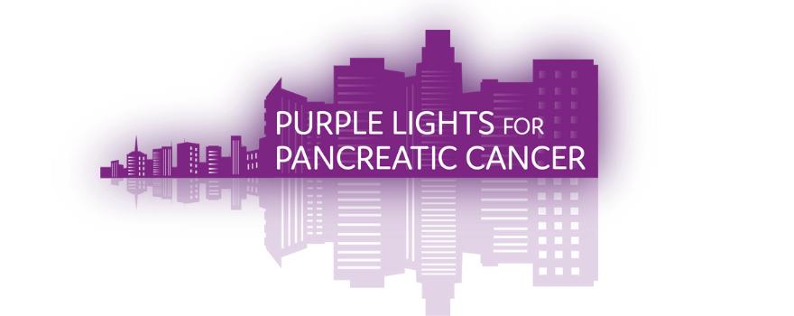 Light It Purple Purple Lights UK Pancreatic Cancer Action