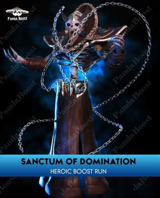 sanctum of domination heroic boost run