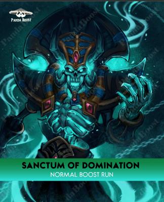sanctom of domination normal boost run