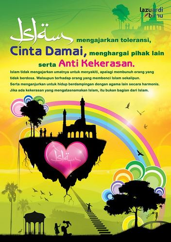 contoh poster agama