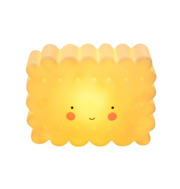 Dekolampe Keks gelb