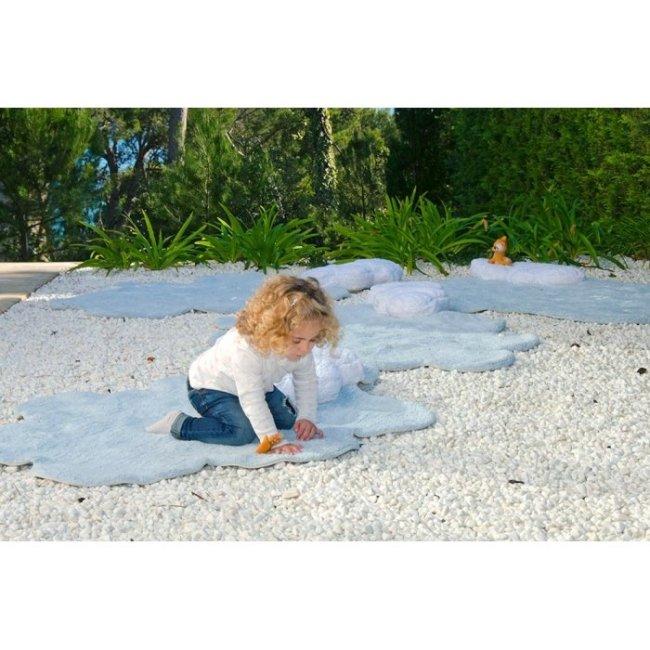 Lorena Canals Kinderteppich Puffy Dream Blau 2