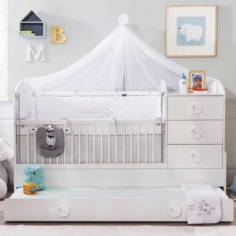 Cilek Baby Cotton Babybett umbaubar 1