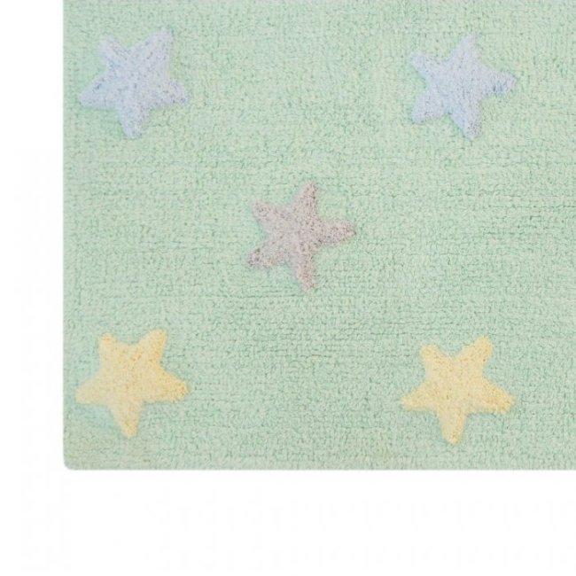 Lorena Canals Kinderteppich soft mint 2