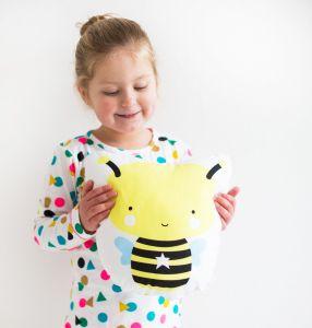 Kinderkissen Biene