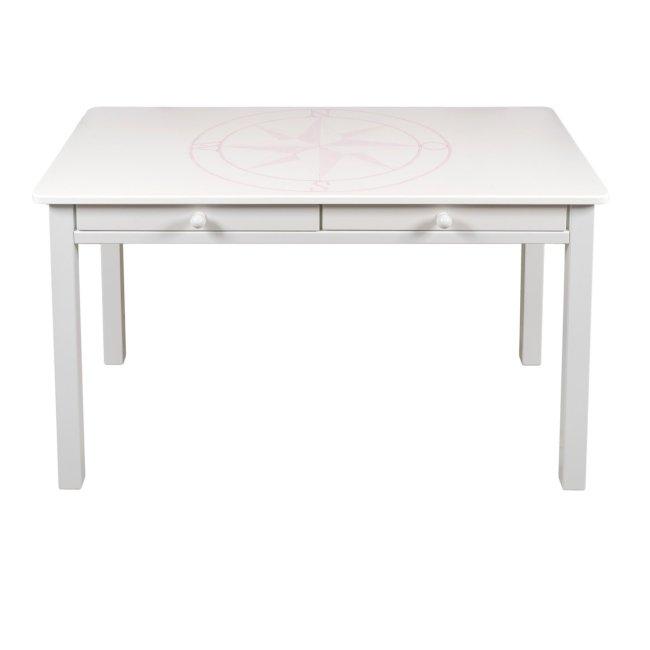 Schreibtisch Windrose Rosa