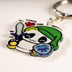 Porte-clés Pandakiwi Legend of Panda