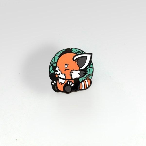 Pin's Pandakiwi Panda roux