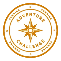 Strava adventure running challenge badge