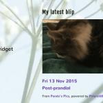 Blipper Widget screenshot