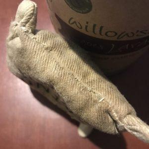 catnip sack's new seam