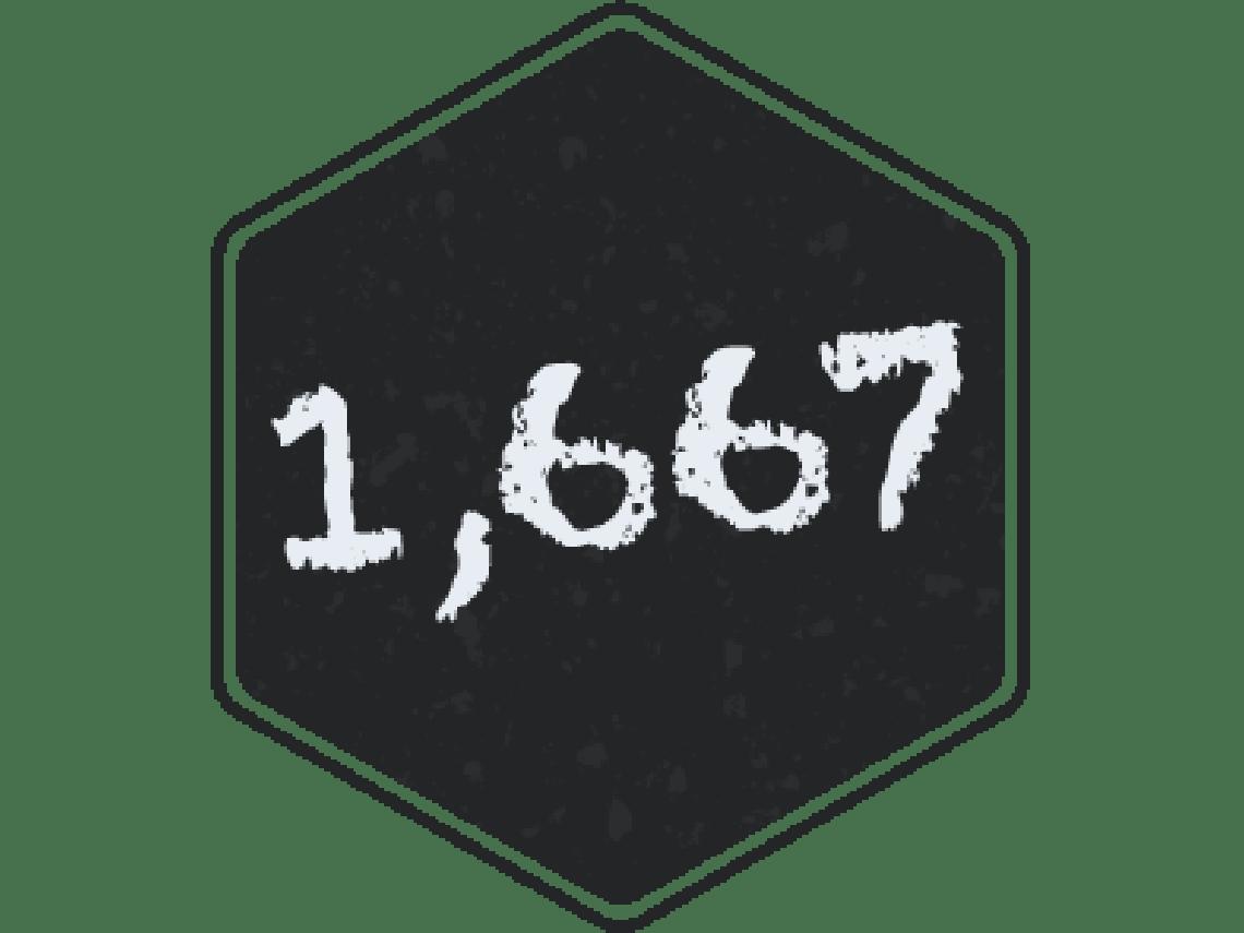 NaNoWriMo 2019: 1,667 words written