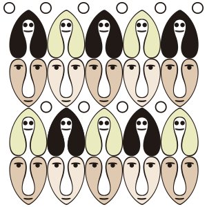 Caras - Ilustración digital