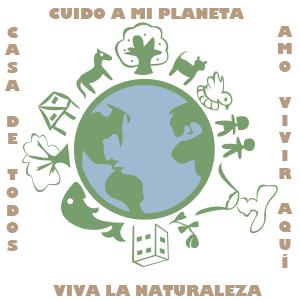 La Tierra es mi casa - Ilustración en vectores