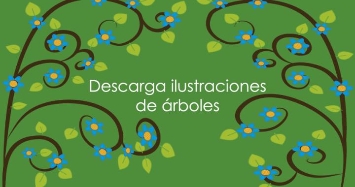 ilustraciones de árboles pandanna imagen