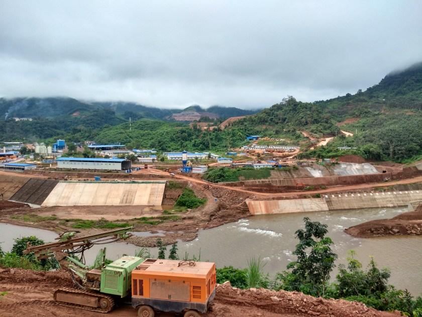Nam Ou 7 construction site, Nov 2017, b