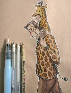 Giraffe Daddy