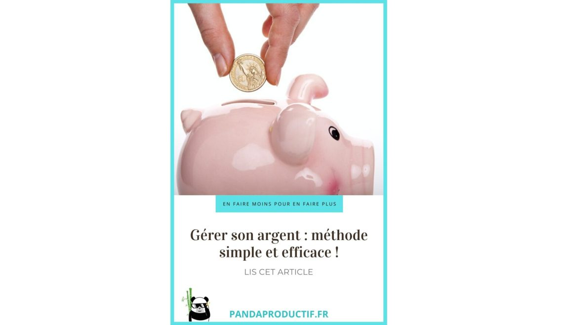 Gérer son budget facilement