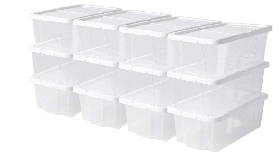 des boites de rangement pour le placard alimentaire
