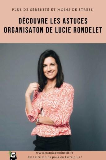 les astuces organisation de Lucie Rondelet