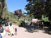 At the Botanical Garden entrance