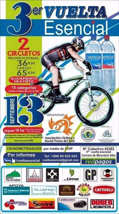 3ª Vuelta Esencial de Ciclismo - Pan de Azúcar 2015