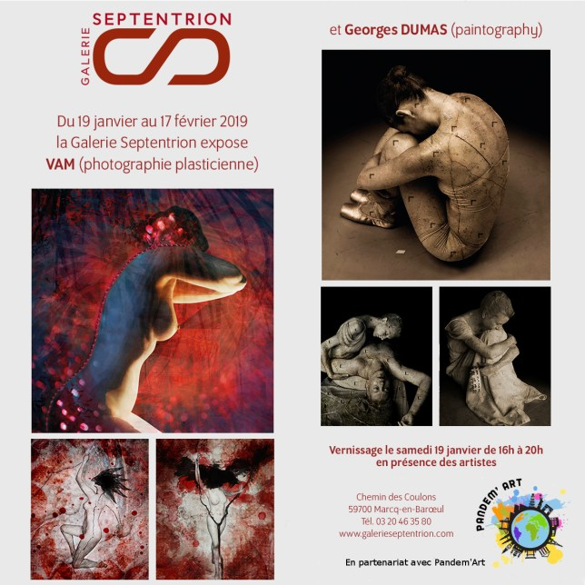 Exposition VAM et Georges DUMAS au Septentrion 19 janvier 2019