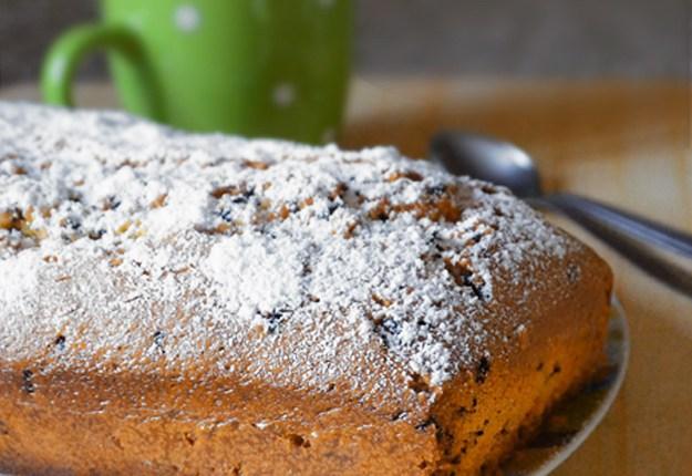 plumcake con gocce al cioccolato