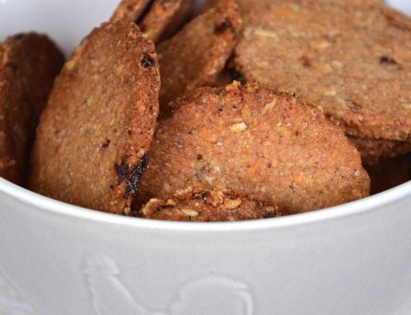 Biscotti integrali uvetta senza lievito