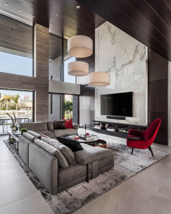 55+ Unique Modern Living Room Ideas for Your Home - Pandriva