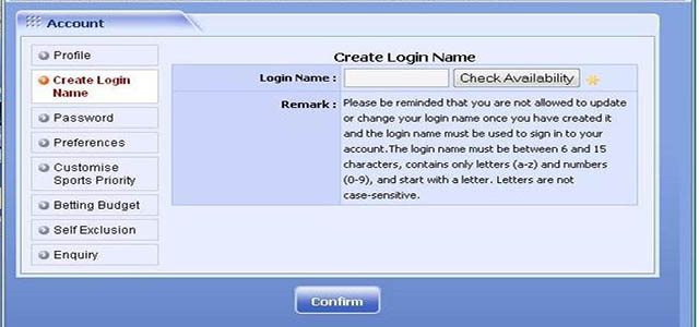 Mengganti login name