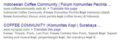 Forum kopi