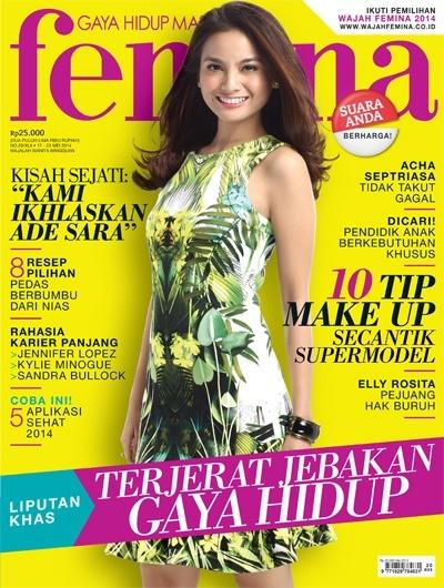 Sampul majalah Femina