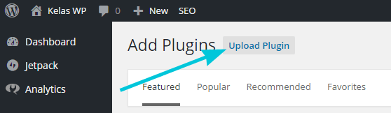 Upload plugin