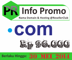 Promo nama domain dot com