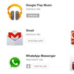Daftar Aplikasi Terinstall di Android