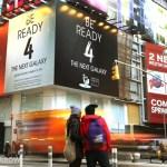 Iklan Samsung Galaxy S IV di Sudut Kota New York