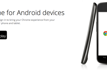 Update Google Chrome Android