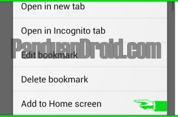 homescreen, shortcut, aplikasi android