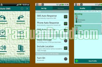 Auto SMS, Aplikasi Android, Auto SMS Responder