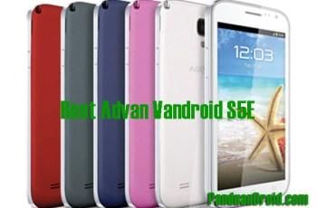 Advan S5E, Teknik Root, App