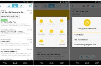 Push Email, Aplikasi Android, DropBox