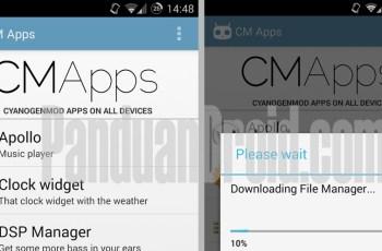 CM Apps, Aplikasi Manager, CyanogenMod, Aplikasi Android